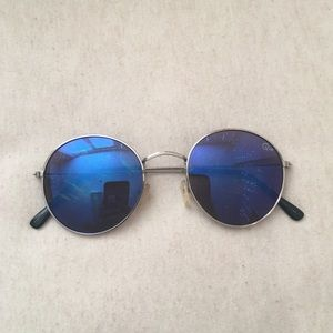 Quay Blue Sunglasses